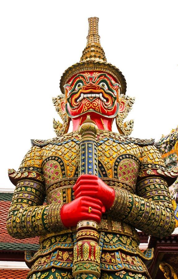 άγαλμα phra φυλάκων kaew wat στοκ εικόνα