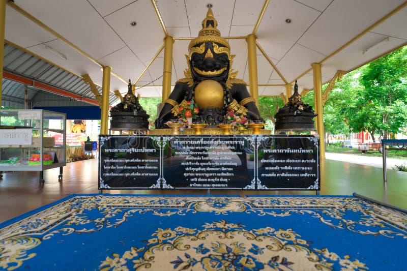 Άγαλμα Rahu στο Wat Pho Yai, Chachoengsao, Ταϊλάνδη στοκ εικόνες
