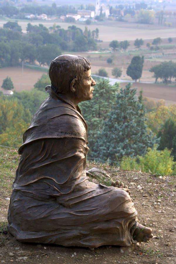 Άγαλμα SAN Francesco στοκ φωτογραφία με δικαίωμα ελεύθερης χρήσης