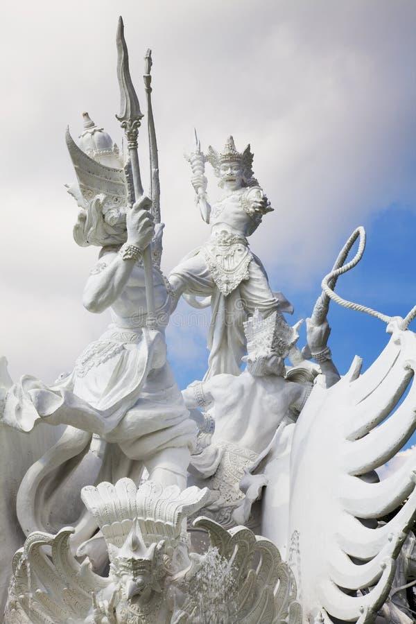 άγαλμα satria της Ινδονησίας gatotkaca  στοκ εικόνες με δικαίωμα ελεύθερης χρήσης