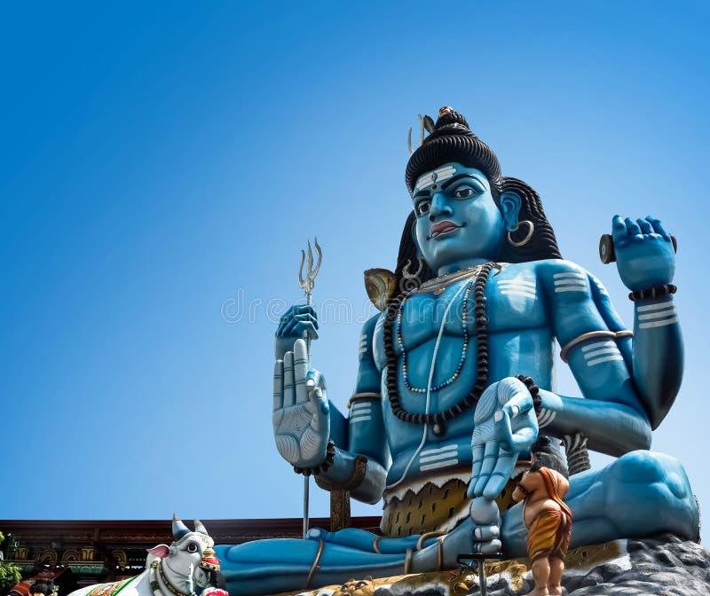 Άγαλμα Shiva Θεών στον ινδό ναό σε Trincomalee, Σρι Λάνκα στοκ εικόνα