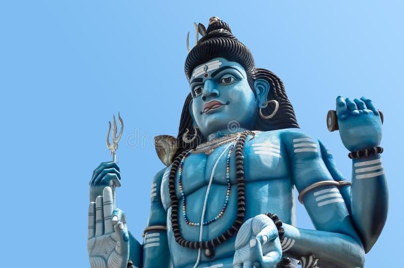 Άγαλμα Shiva Θεών στον ινδό ναό σε Trincomalee, Σρι Λάνκα στοκ εικόνα με δικαίωμα ελεύθερης χρήσης