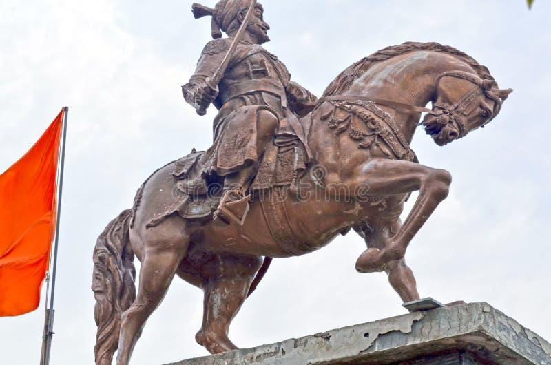 Άγαλμα Shivaji Maharaj Chhatrapati στοκ εικόνα με δικαίωμα ελεύθερης χρήσης