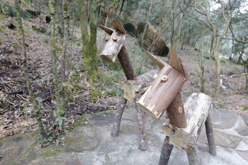 Άγαλμα Simgle του αλόγου, πλίθα rgb στοκ εικόνα