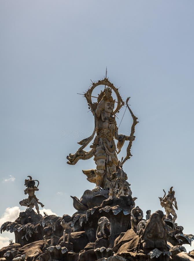 Άγαλμα Titi Banda Patung σε Denpasar, Μπαλί Ινδονησία στοκ φωτογραφία