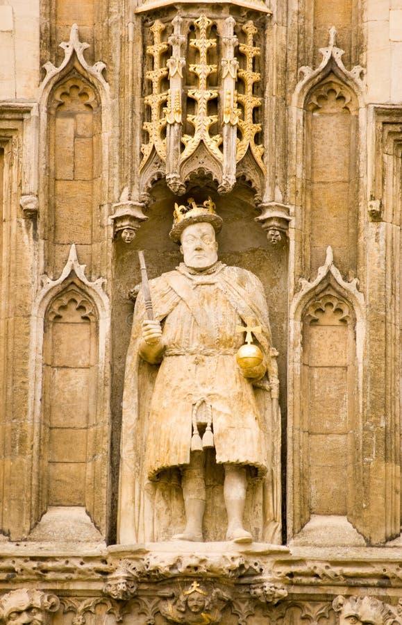 άγαλμα VIII βασιλιάδων του &Kappa στοκ εικόνα