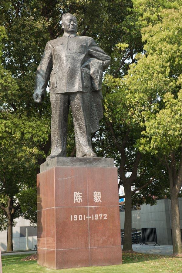 Άγαλμα Yi Chen το φράγμα Σαγκάη στοκ εικόνες
