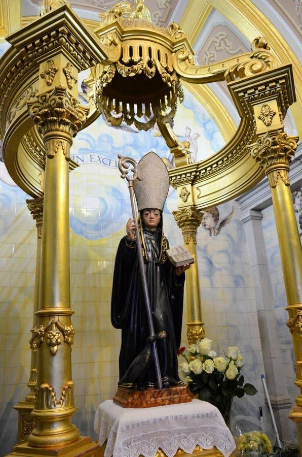 Άγαλμα Αγίου Benedict στοκ εικόνες