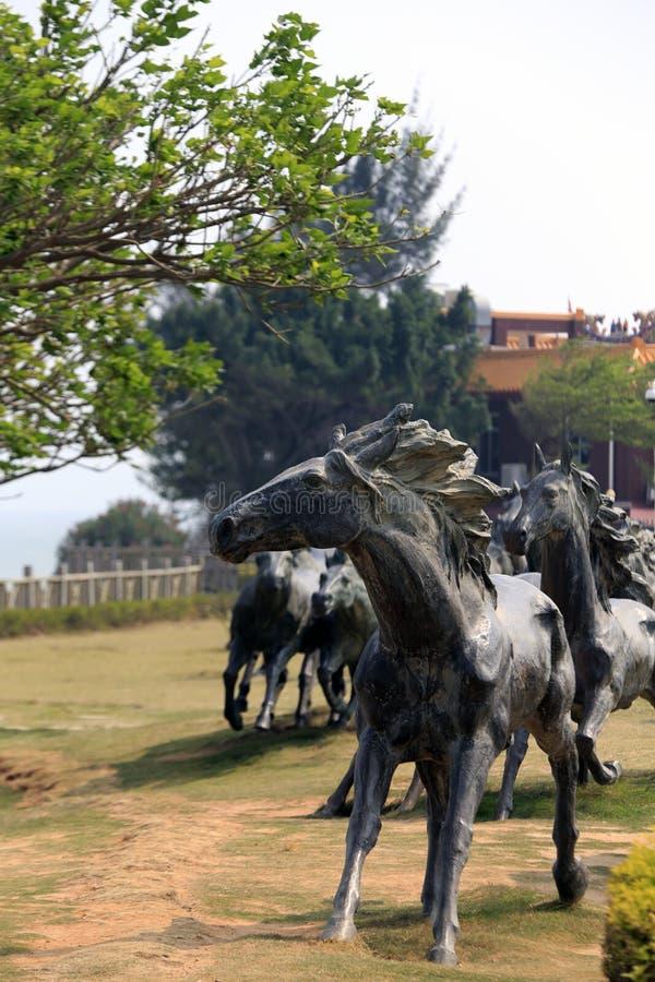 Άγαλμα αλόγων στοκ φωτογραφία με δικαίωμα ελεύθερης χρήσης