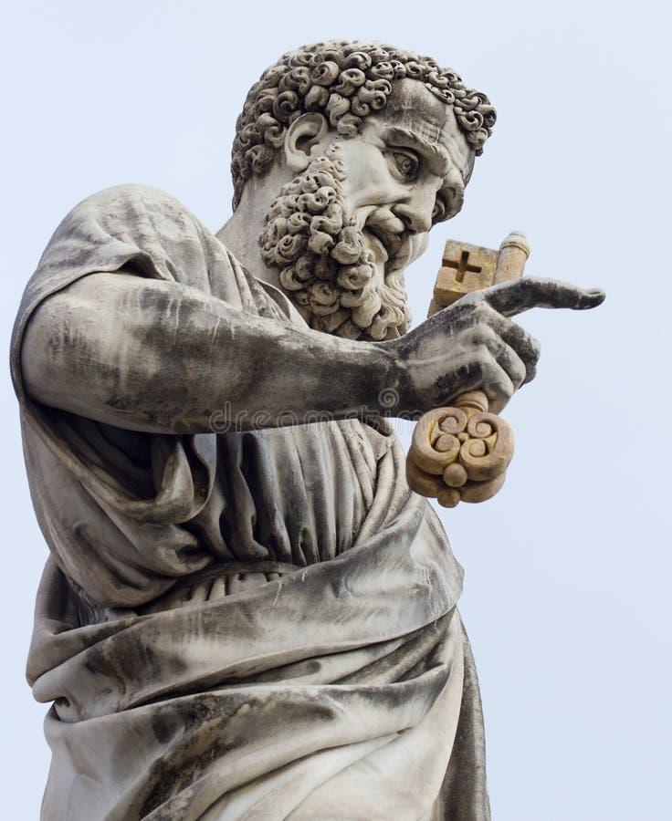 άγαλμα Βατικανό της Ιταλί&alph στοκ φωτογραφία με δικαίωμα ελεύθερης χρήσης