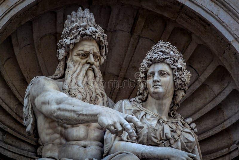 άγαλμα Βιέννη στοκ φωτογραφία με δικαίωμα ελεύθερης χρήσης