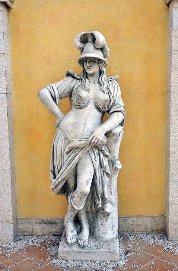 Άγαλμα γυναικών στοκ φωτογραφία με δικαίωμα ελεύθερης χρήσης