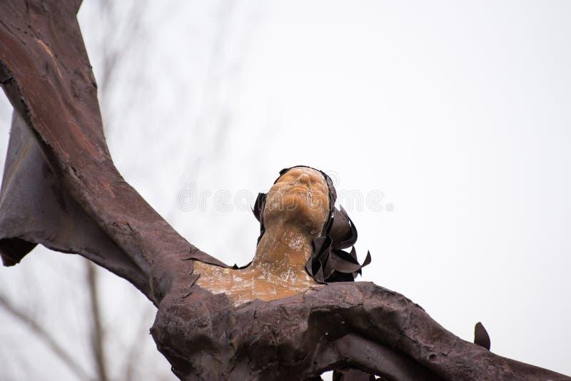 Άγαλμα μετάλλων στοκ φωτογραφίες με δικαίωμα ελεύθερης χρήσης