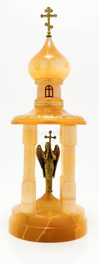 Άγαλμα ναών φιαγμένο από ξύλο και μέταλλο στοκ εικόνες