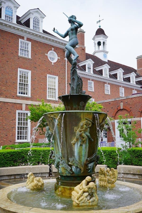 Άγαλμα πανεπιστημιουπόλεων UIUC στοκ φωτογραφία με δικαίωμα ελεύθερης χρήσης
