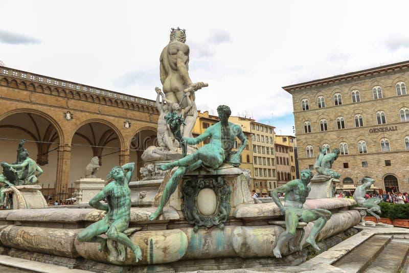 Άγαλμα Ποσειδώνα στοκ εικόνες με δικαίωμα ελεύθερης χρήσης