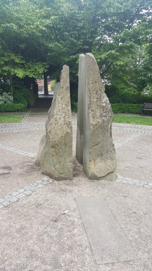 Άγαλμα πυξίδων στοκ εικόνες