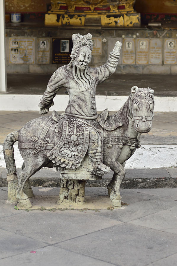 Άγαλμα ραχών στο wat arun στοκ εικόνες με δικαίωμα ελεύθερης χρήσης