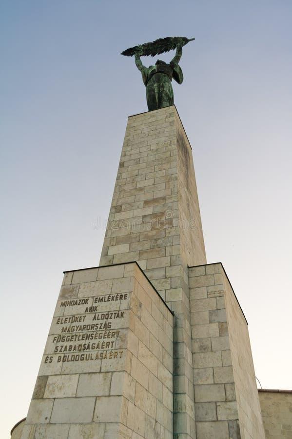 Άγαλμα στη Βουδαπέστη, Ουγγαρία στοκ εικόνες