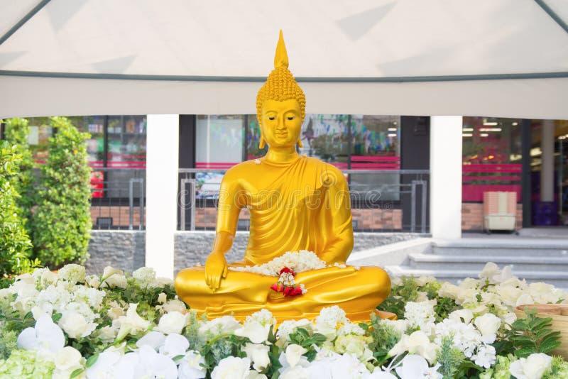 άγαλμα Ταϊλάνδη του Βούδα στοκ φωτογραφία με δικαίωμα ελεύθερης χρήσης