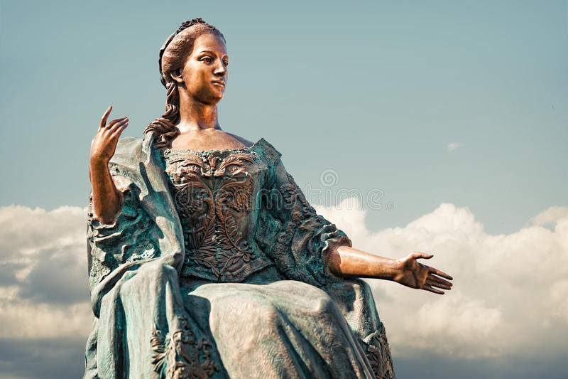 Άγαλμα της αυτοκράτειρας Μαρία στοκ φωτογραφία