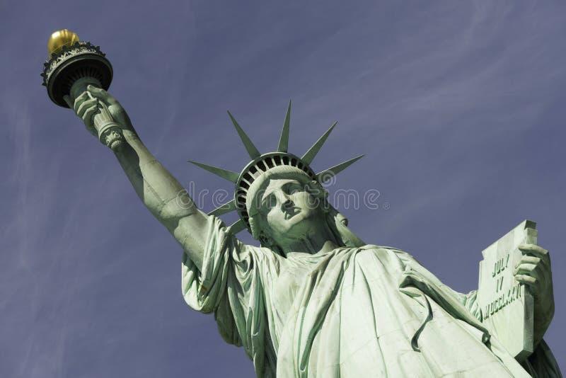 Άγαλμα της ελευθερίας, πόλη της Νέας Υόρκης στοκ εικόνα