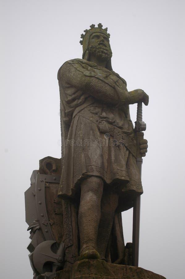 Άγαλμα του βασιλιά Robert ο Bruce στοκ φωτογραφία με δικαίωμα ελεύθερης χρήσης