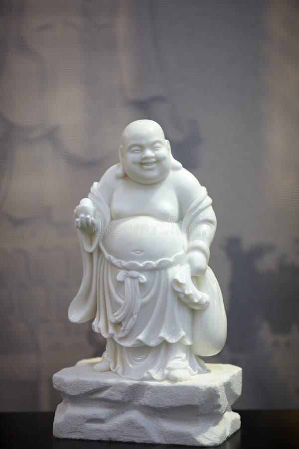 Άγαλμα του Βούδα νεφριτών στοκ εικόνες