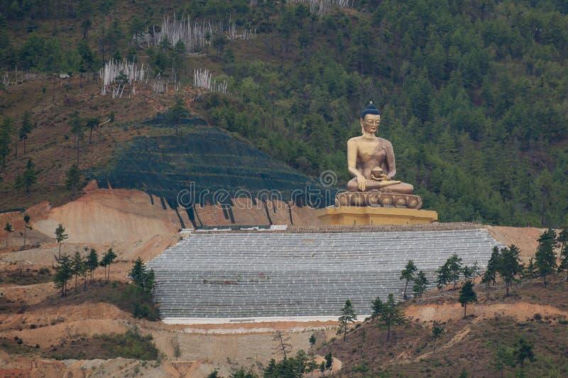 Άγαλμα του Βούδα Dordenma στοκ εικόνες