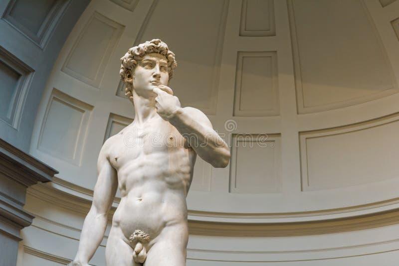 άγαλμα του Δαβίδ στοκ εικόνες