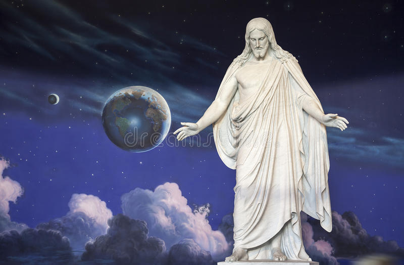 Άγαλμα του Ιησούς Χριστού στοκ εικόνα