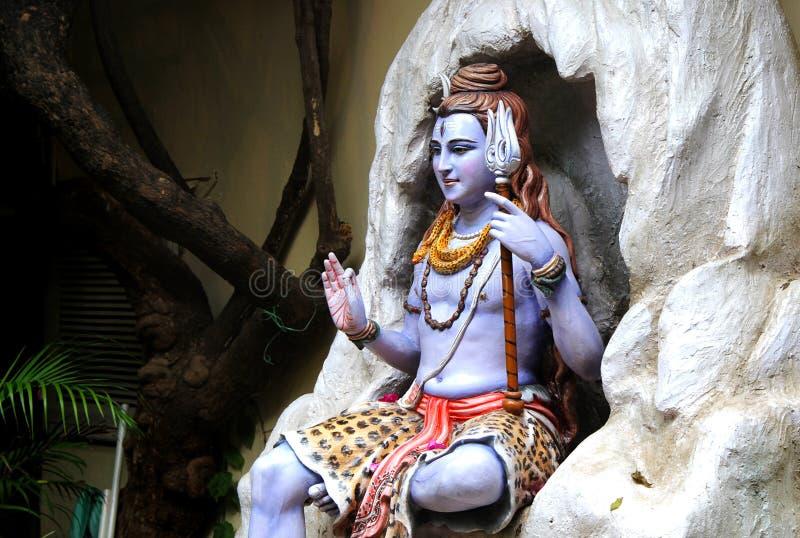 Άγαλμα του ινδού Λόρδου Shiva, Rishikesh Ινδία στοκ φωτογραφία με δικαίωμα ελεύθερης χρήσης