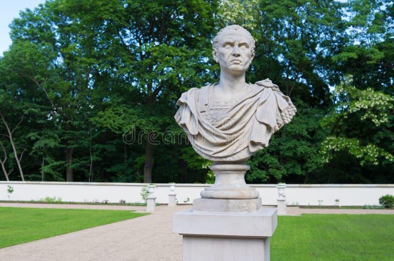 Άγαλμα του Ιουλίου Καίσαρα στοκ φωτογραφίες