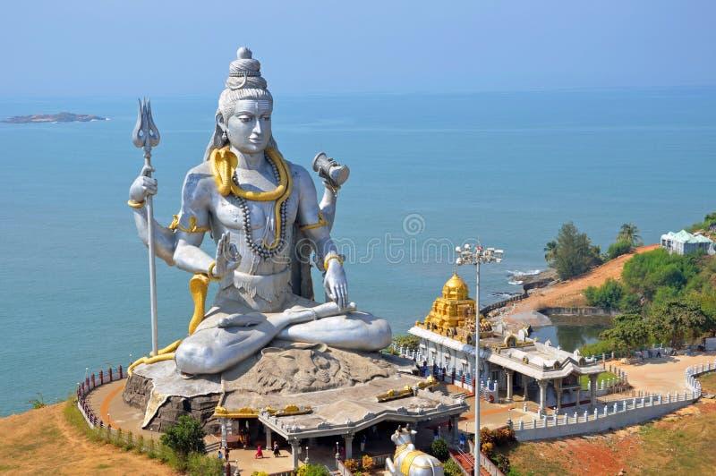 Άγαλμα του Λόρδου Shiva στοκ εικόνες