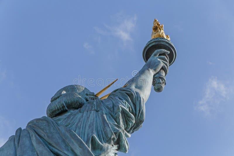 άγαλμα του Παρισιού ελ&epsilon στοκ φωτογραφία