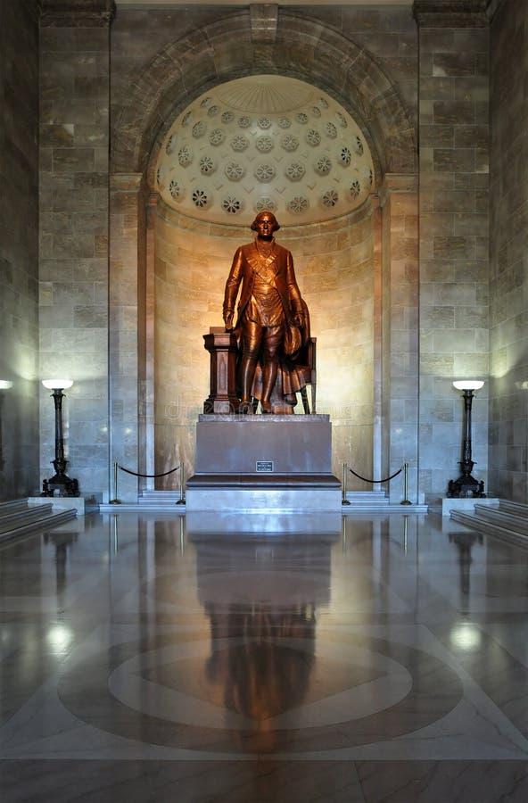 Άγαλμα του Προέδρου George Washington στοκ εικόνα