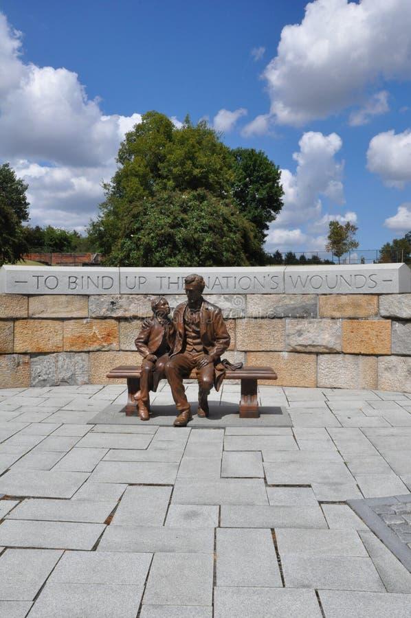 Άγαλμα του Abraham Lincoln στο Ρίτσμοντ, Βιρτζίνια στοκ φωτογραφίες με δικαίωμα ελεύθερης χρήσης