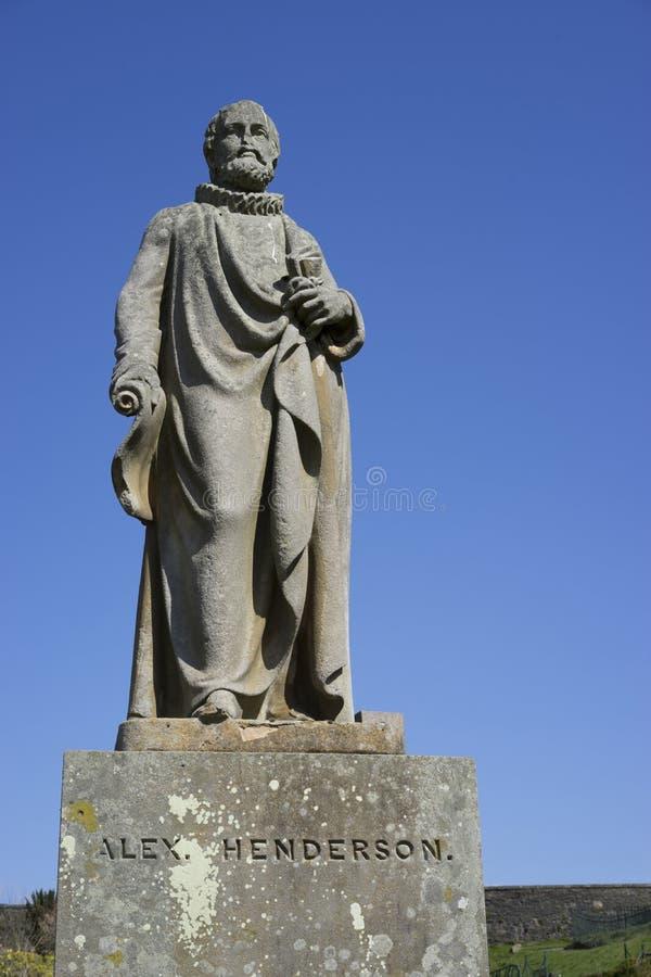 Άγαλμα του Alex Henderson στοκ φωτογραφία