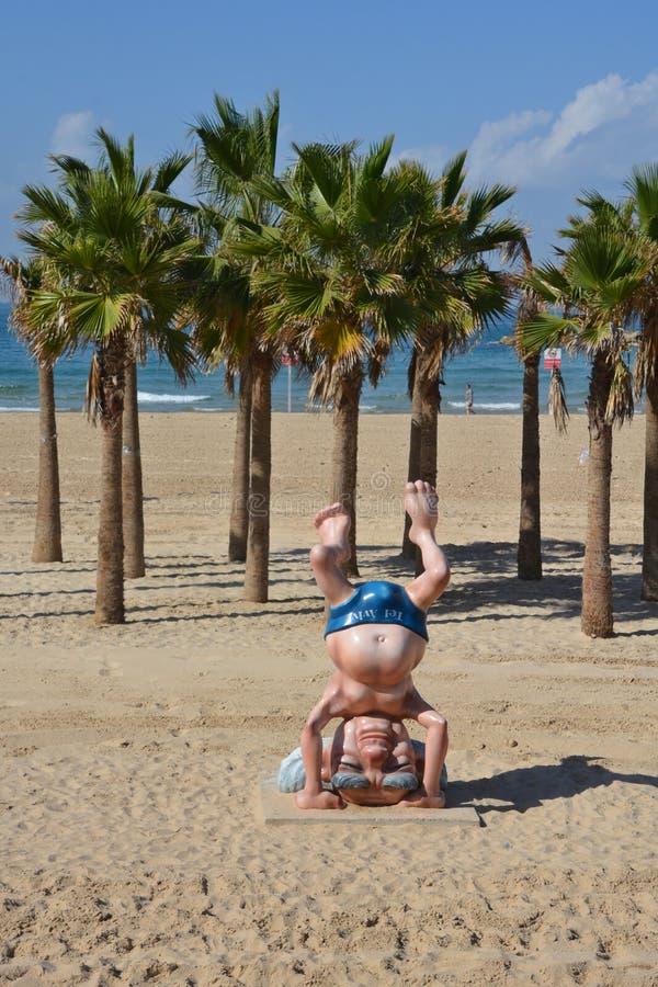 : Άγαλμα του Ben Gurion στοκ φωτογραφία