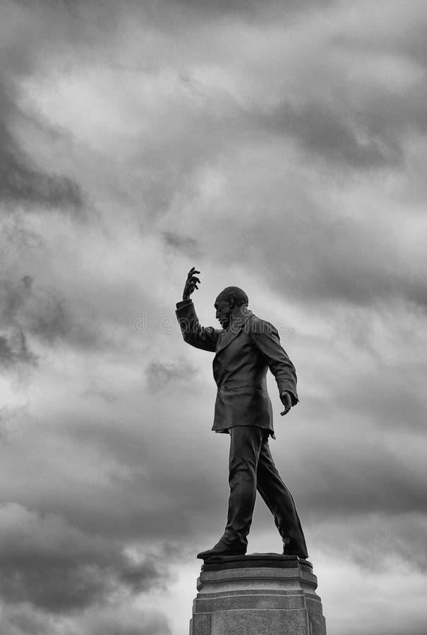 Άγαλμα του Edward Carson, συνέλευση Stormont, Βόρεια Ιρλανδία στοκ εικόνες