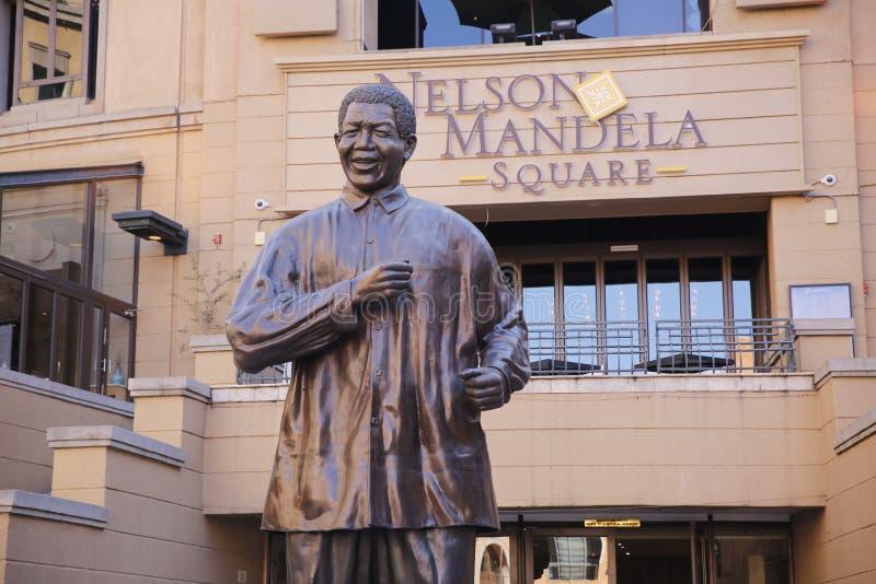 άγαλμα του Mandela Nelson στοκ φωτογραφίες