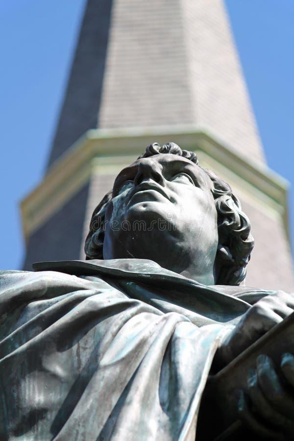 Άγαλμα 3 του Martin Luther στοκ φωτογραφία με δικαίωμα ελεύθερης χρήσης