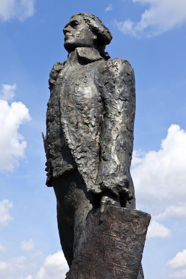 Άγαλμα του Thomas Jefferson στο Παρίσι στοκ εικόνες με δικαίωμα ελεύθερης χρήσης