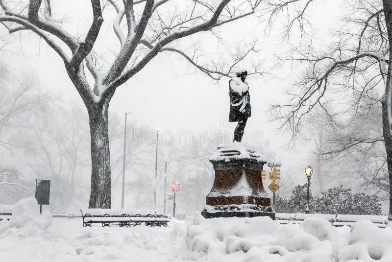 Άγαλμα του William Shakespeare στοκ εικόνα