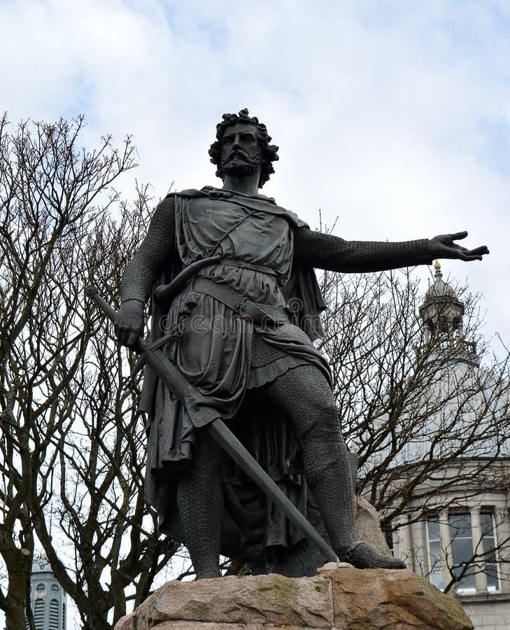 Άγαλμα του William Wallace, Αμπερντήν, Σκωτία στοκ φωτογραφία με δικαίωμα ελεύθερης χρήσης