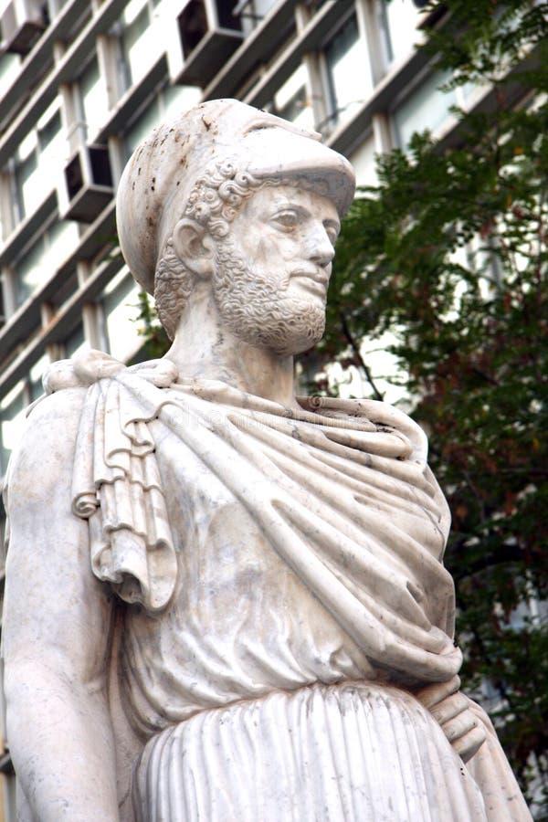 Άγαλμα Heracles - Αθήνα στοκ φωτογραφία με δικαίωμα ελεύθερης χρήσης