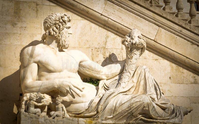 Άγαλμα Zeus στοκ εικόνες