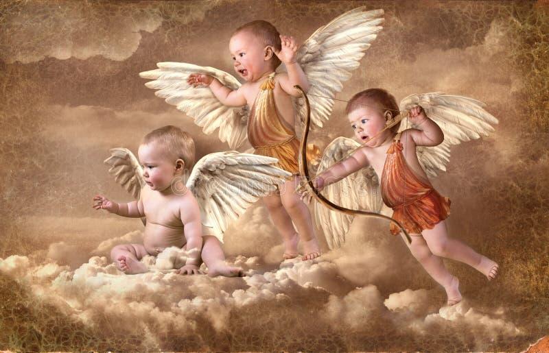 άγγελοι διανυσματική απεικόνιση