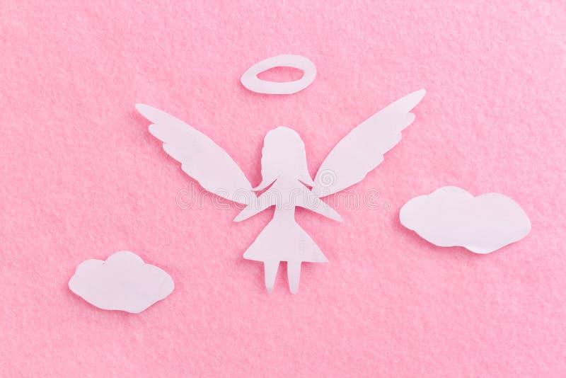 άγγελος γυναικών κινούμενων σχεδίων ελεύθερη απεικόνιση δικαιώματος