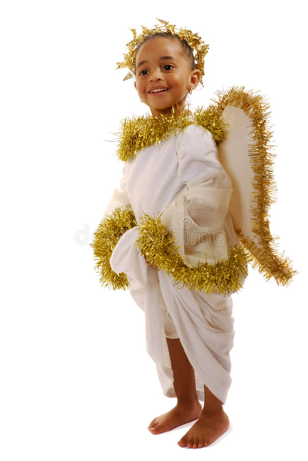 άγγελος ο πιό littlest στοκ φωτογραφία